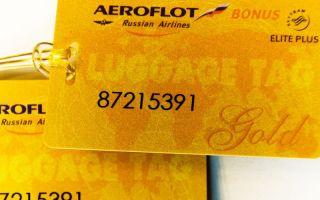 Детально о золотой карте Аэрофлот Бонус: как получить, что даёт