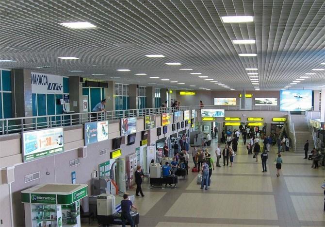 На кассе аэропорта Utair