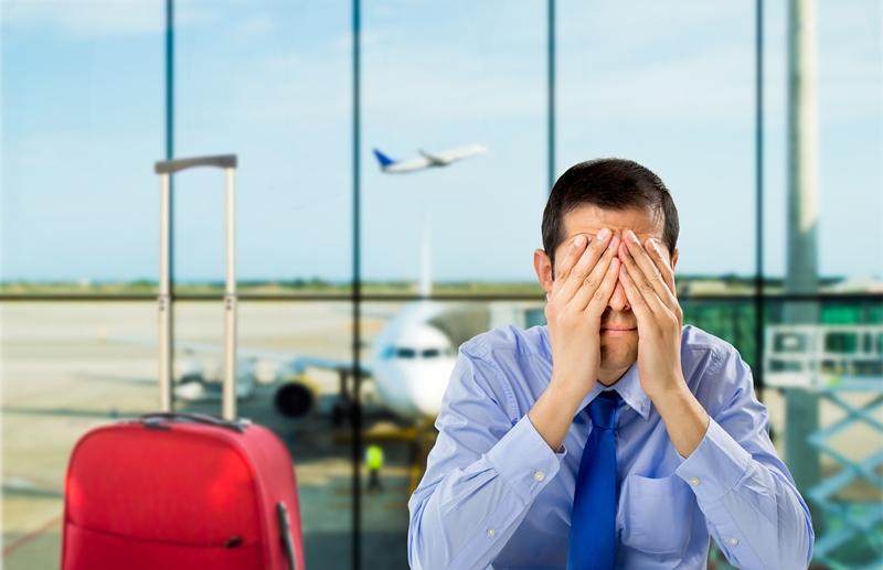 Отмена рейса самолета