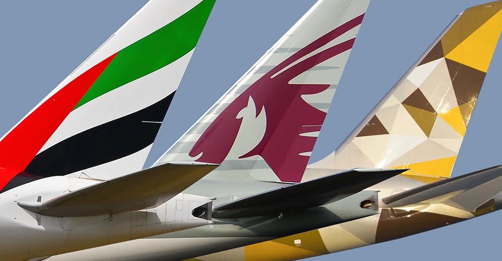 Qatar Airways, Etihad или Emirates фото