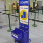 Ryanair рамка ручная кладь