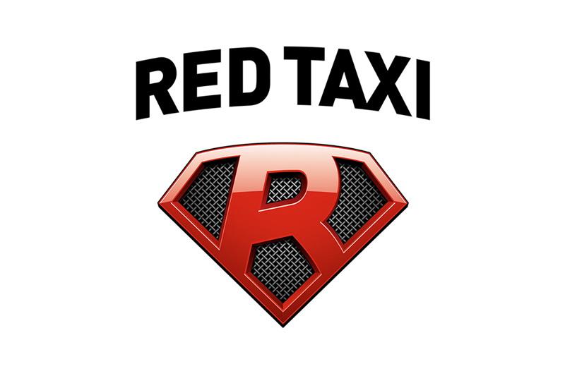 Red такси