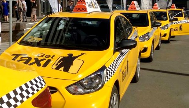 Работа в Gett такси